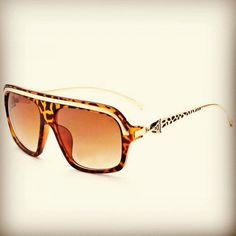 73a0e6e95fb Square frame sunglasses - panthere decor collection Famous brand - Cartier  Gold brown