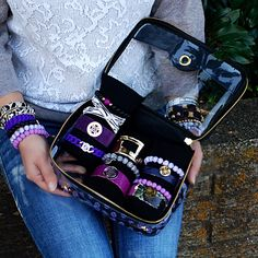 Rustic Cuff Travel Bag Purple – Rustic Cuff