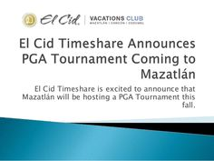 PGA tourney in Mazatlan was a hit in 2014, 2015 already has some new tournaments scheduled, should be a great year for golf enthusiasts!