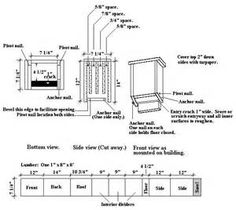 Bat House Plans For Kids - The Best Image Search