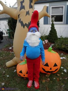 Papa Smurf Costume - Halloween Costume Contest via @costumeworks