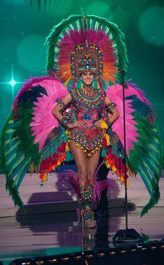 Miss Guatemala, Miss Universe, Costume