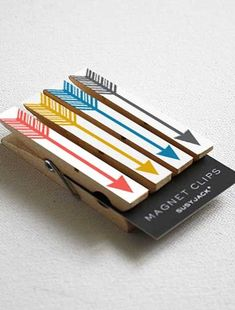 Arrows Magnetic Clips