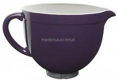 NOWOŚĆ Dzieża Ceramiczna 4.8 litra  do miksera KitchenAid Kitchenaid Ceramic Bowl NEW 2014 Purple Kitchenaid Attachments, White Chocolate, Tableware, Dinnerware, Tablewares, Dishes, Place Settings