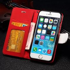 Elegant Woven PU Leather Color Collision Section Case With Card Slots For iPhone 6 6S 4.7 Inch  Worldwide delivery. Original best quality product for 70% of it's real price. Hurry up, buying it is extra profitable, because we have good production sources. 1 day products dispatch from...