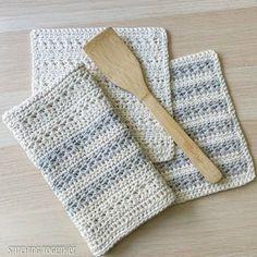 Easy Kitchen Towel Topper Crochet Pattern Crochet Dish Towel | Etsy Crochet Towel Holders, Crochet Dish Towels, Crochet Kitchen Towels, Crochet Potholders, Crochet Hot Pads, Easy Crochet, Christmas Towels, Hanger, Crochet Patterns