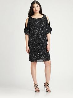 Aidan Mattox, Salon Z - Sequin Cocktail Dress - Saks.com