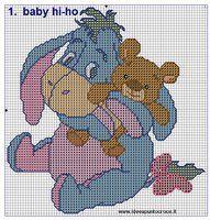 BABY HIHO CROSS STITCH by syra1974