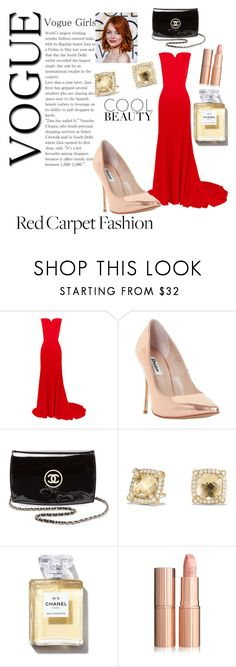 """""""Untitled #2"""" by smuxe ❤ liked on Polyvore featuring Oscar de la Renta, Dune, Chanel and David Yurman"""