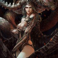 Fantasy girls angels Добро пожаловать зритель в удивительный мир сказки. Можете восхищаться и удивляться! Welcome the viewer to the wonderful world of fairy tales. You can admire and wonder! Dark Fantasy Art, World Of Fantasy, Fantasy Images, Fantasy Women, Fantasy Girl, Fantasy Artwork, Dark Art, Warrior Girl, Fantasy Warrior