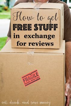 How to get free stuff in exchange for reviews
