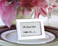 Set of 24 Miniature Photo Frames/Placeholders