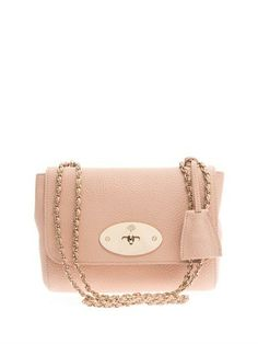 81643f70640c Mulberry Lily Small Chain Pink Gold Cross Body Bag on Sale