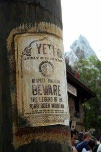 Numerous signs around Serka Zong warn of the presence of the fable Yeti Disney World Florida, Disney World Parks, Disney World Resorts, Disney Vacations, Park Photography, Photography Ideas, Disney Magic Kingdom, Disney Addict, Disney Springs