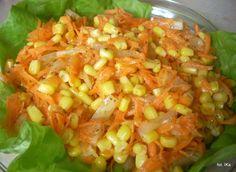 Surówka z marchewki z ananasem