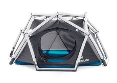 The inflatable tent The Cave from HEIMPLANET stands for a new way of camping. Its easy and intuitive handling makes The Cave become your ideal companion for every trip.