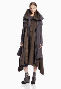 WOMEN :: OUTERWEAR :: HARA COAT GREY - NICHOLAS K   WANT!!!