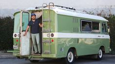 The 29-year-old runner had a degree and marketing and a racing resume that landed him a Saucony sponsorship. Now, he's living the van life, with an 18.5-foot vintage rig named Lolita.