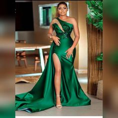 Black Bridal Dresses, Green Wedding Dresses, Bridesmaid Dresses, Dress Wedding, Dress Prom, Dress Long, Party Dress, Evening Dresses Plus Size, Mermaid Evening Dresses