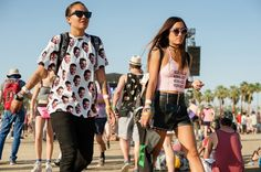 FASHION Magazine   Coachella 2014: 54 style snaps of the raddest guys and gals around the festival's second weekend