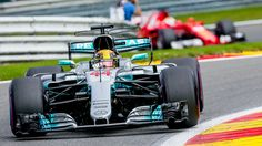 Lewis Hamilton triumphs at Belgian Grand Prix for fifth Form.- Lewis Hamilton triumphs at Belgian Grand Prix for fifth Formula One win of season Easy to see how small and light cars are when you look at them in comparison to the size of the driver. Hybrids And Electric Cars, Belgian Grand Prix, Cool Sports Cars, Lewis Hamilton, Formula One, Exotic Cars, Concept Cars, F1, Luxury Cars