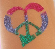 Glitter Tattoos for any occasion!  Check it out.