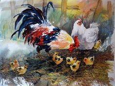 Lian Zhen - Chinese Brush & Watercolor Painting