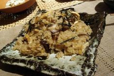 Japanese mixed rice. Recipe with dried shiitake. konbu and abura age. Japanese Food Report.
