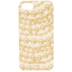 Kate Spade New York Pearls Resin Phone Case for iPhone® 5 and 5s found on Polyvore