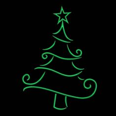 This design have been manually digitized by me. Please let me know if you need another format or size. For Any inquiries please feel free to ask me. These designs come with 6 sizes+PDF design. Christmas Doodles, Noel Christmas, Christmas Signs, Christmas Decorations, Christmas Ornaments, Christmas Tree Drawing, Christmas Paintings, Christmas Tree Outline, Christmas Tree Images
