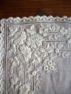 Rare and Exquisite antique hand done wedding by TextileArtLace, $148.00