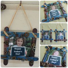Children's Handmade Fathers Day gifts - easy ideas and inspiration to help children be creative and show their love for Dad! From Mummy Musings and Mayhem