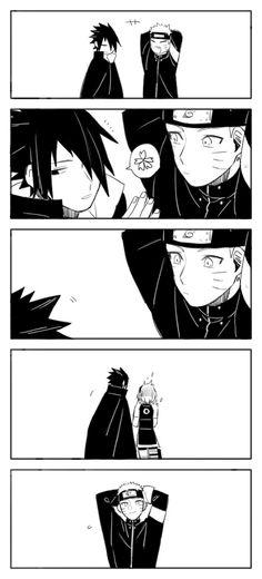 Sasuke Sakura Sarada, Naruto Art, Naruto And Sasuke, Naruto Shippuden Anime, Anime Naruto, Anime Manga, Comic Naruto, Naruto Funny, Sasusaku Doujinshi