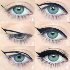 Perfect the timeless cat eye