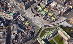 Proposed plaza at College Green 2016 Dublin Street, Dublin City, City Council, Liberty, City Photo, Ireland, College, Architecture, Buildings