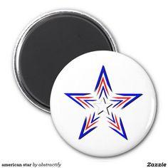 american star 2 inch round magnet