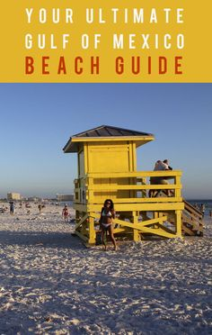 Dreaming of a beach vacation? I'm sharing my Gulf Of Mexico beach recommendations including: Siesta Key, Marco Island (on Florida's Paradise Coast), Caledesi Island, and Holbox, Mexico. Best beaches in the Gulf Of Mexico. Visit Florida, Sarasota Florida, Florida Travel, Florida Beaches, Mexico Travel, Mexico Beach Florida, Clearwater Florida, Travel Oklahoma, Cozumel