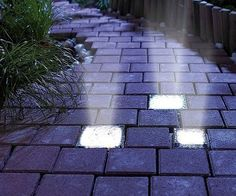Illuminate Your Garden Path In A Unique And Creative Way With These Solar  Powered Brick Lights