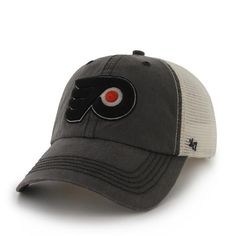 Philadelphia Flyers Caprock Canyon Charcoal 47 Brand Stretch Fit Hat