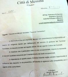 La clausola sociale dei lavoratori di Tremestieri.