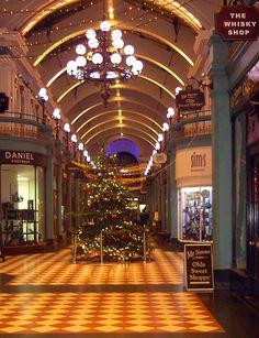 Great Western Arcade, Birmingham, Christmas 2013.