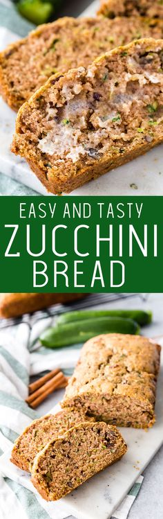 Easy zucchini bread packed with flavor, the perfect recipe #ad #savealotinsiders