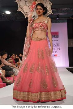 Bollywood Style Model Net Lehenga In Pink Colour NC1510 Pink Colour Net Fabric Designer Bollywood Lehenga Comes With Blouse Which Can Be Stitched Up To Size 44.This Bollywood Designer Lehenga Is Craft...