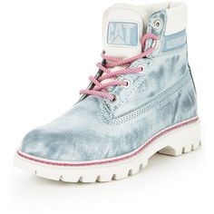 faaf1e763f5 Caterpillar Cat Lyric Cloudy Ankle Boot ( 115) ❤ liked on Polyvore  featuring shoes