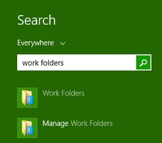 Work Folders Bring Synced Storage to #Windows 8.1