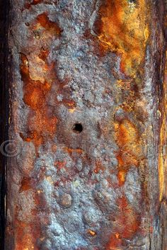 Dis/Integration 2 - 5x7 Fine Art Photo Print - Rusted English Sea Defence Series -