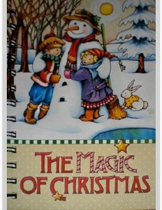Mary Engelbreit The Magic Of Christmas Snowman With Kids Journal New