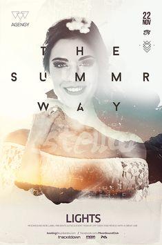 Summer Way Poster on Behance
