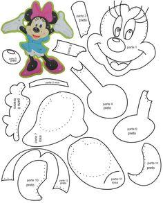 Resultado de imagen para accesorios de minnie mouse para imprimir