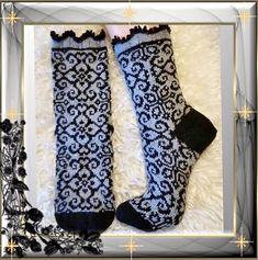 Ravelry: Kamilla socks pattern by JennyPenny